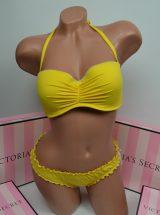 Купальник Beach Sexy бандо желтый топаз