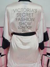 Сатиновый халат Victoria's secret Fashion Show 2014 с камнями