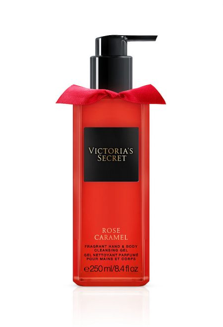 Набор для тела гель + лосьон Rose Caramel Trend collection