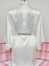 Халат Dream Angels Fashion Show 2015 белый с крыльями