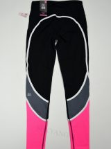 Штаны Knockout из коллекции VSX Sport черные с розовым
