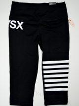 Капри Knockout черные белый принт из коллекции VSX Sport