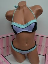 Купальник Неопреновый бандо Beach Sexy голубой
