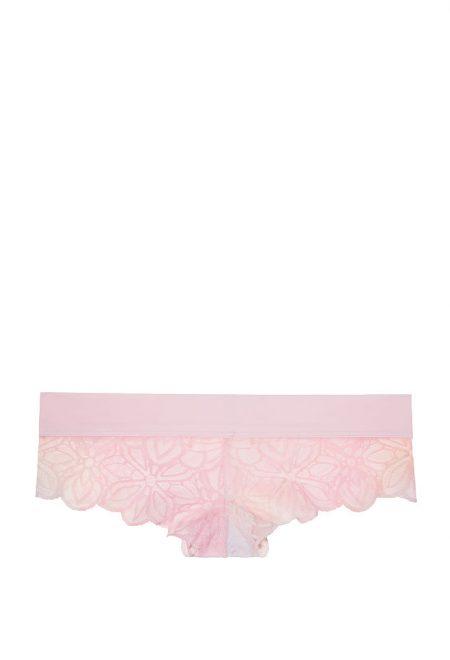 Трусики Pink Date Lace Cheekster розовое омбре