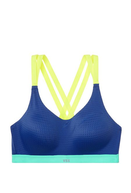 Бюст для спорта Lightweight VSX Sport синий с желтым