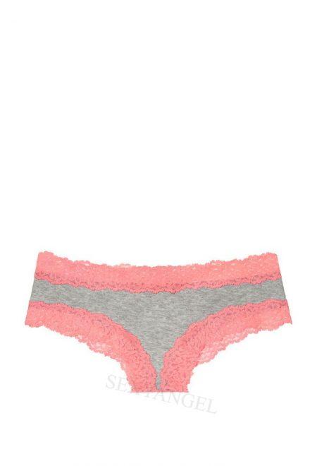 Trusiki chiki serii Pink serie s korallovim