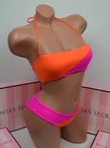 Купальник – бандо малиново-оранжевый Beach Sexy