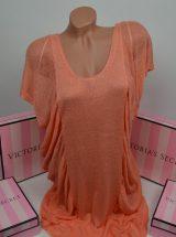 Льняная туника Beach Sexy персиковая