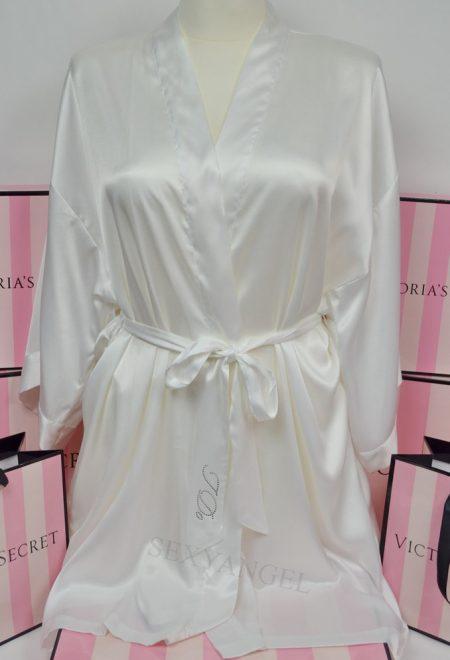 Свадебный халат Bride с сердцем