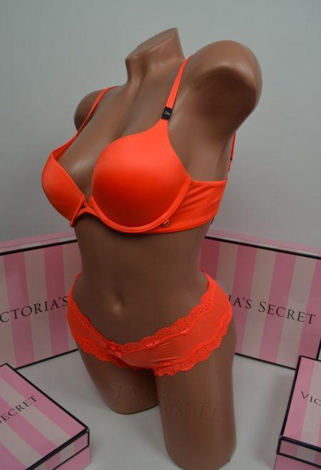Комплект Very Sexy ярко-оранжевый гладкий