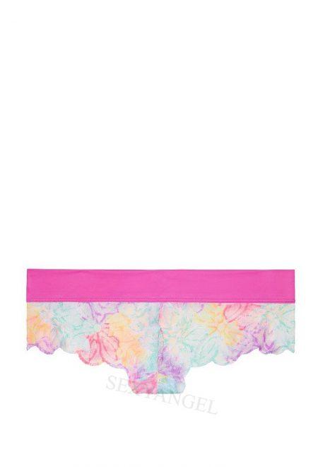 Trusiki Pink Date Lace Cheekster biruzovo-malinovoe ombre
