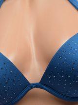 Купальник Hottie синий в камни Very Sexy