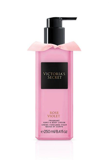 Набор для тела гель + лосьон Rose Violet Trend collection