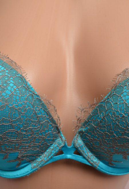 Комплект Very Sexy бирюзовое кружево