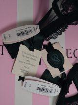 Комплект черный с камнями Swarovski Fashion Show