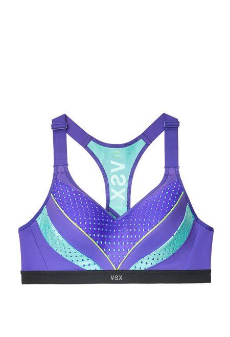 Бюст для спорта Incredible VSX Sport фиолетово-бирюзовый