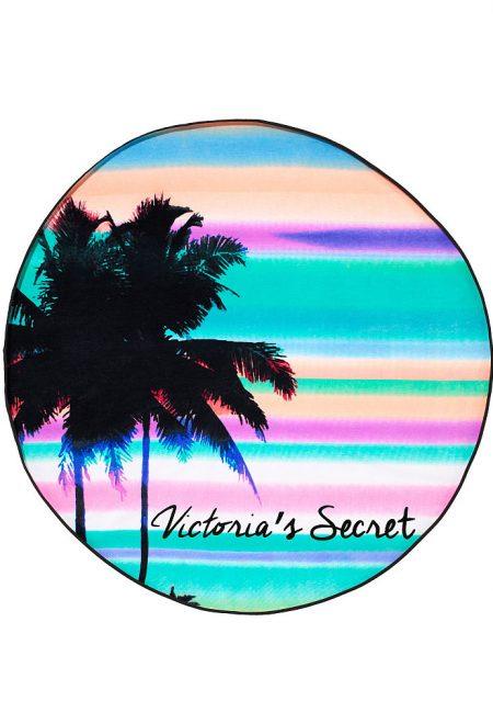 Круглое пляжное полотенце Victoria's secret