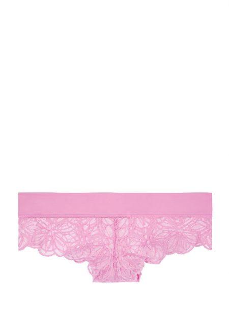 Трусики Pink Date Lace Cheekster лиловые