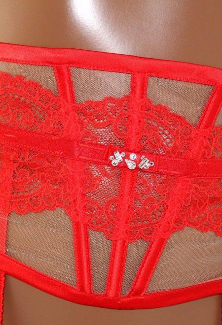 Корсетный пояс Victoria's Secret Designer Collection красный