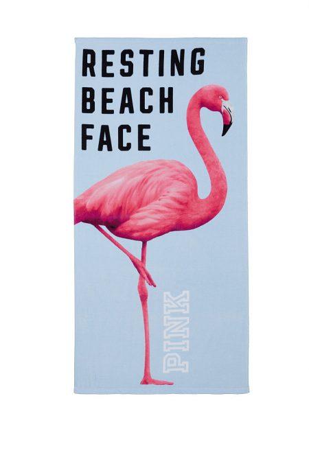 Полотенце для пляжа Pink Фламинго