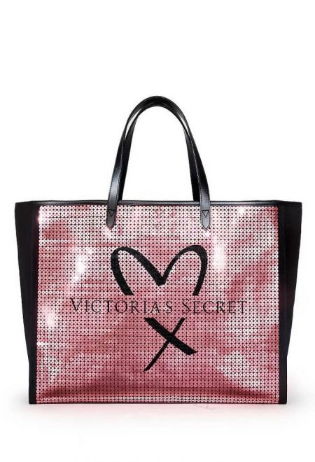 Sumka rozovie pajetki Victoria's Secret