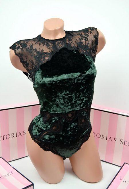 Barhatnoe body Victoria's Secret chernoe