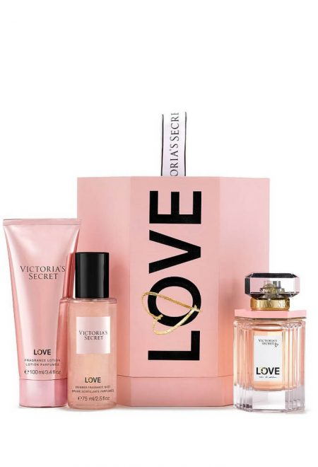 Podarochniy nabor s parfumom Love Victoria's Secret