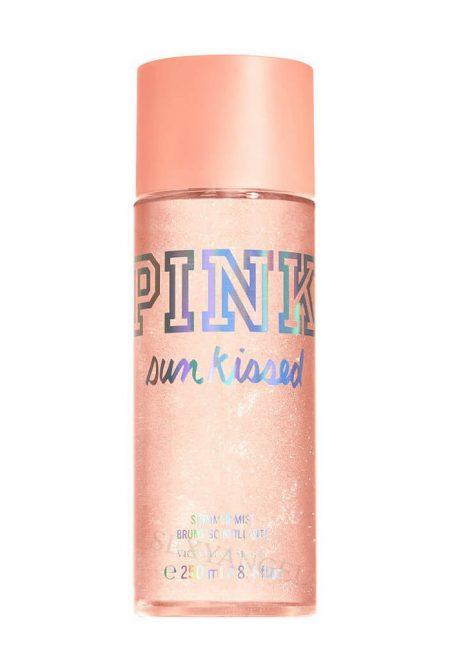 Mercayushiy sprey dlya tela Pink Sun Kissed
