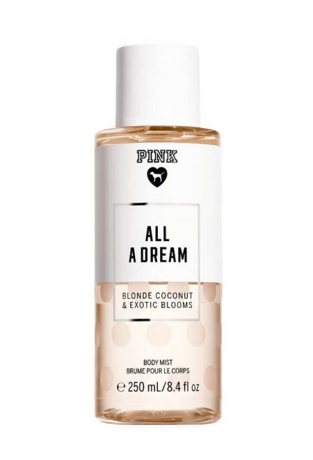 Sprej dlia tela Pink all a Dream