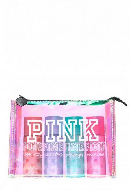 Nabor mini-spreev pink v kosmetichke1