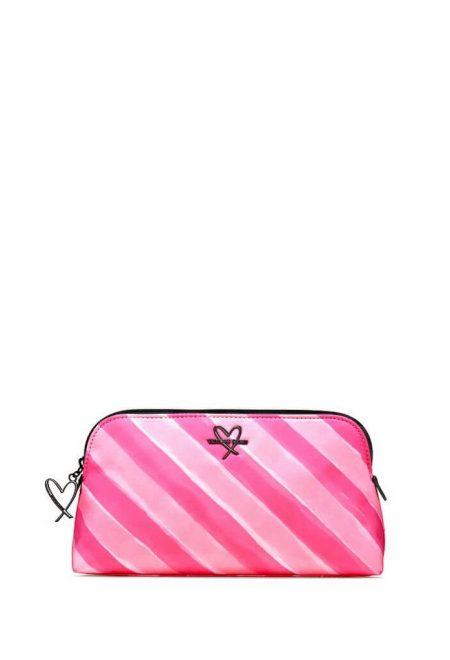 Kosmetichka-penal Victoria's Secret malinovaia poloska