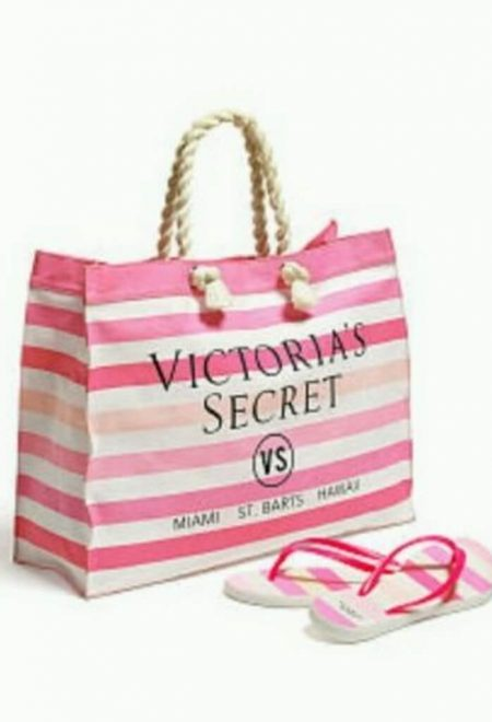 Pliazhnij nabor sumka i vjetnamki Victoria's Secret