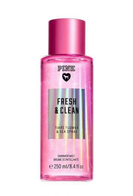 Mercajushij sprej dlia tela Pink Fresh&Clean