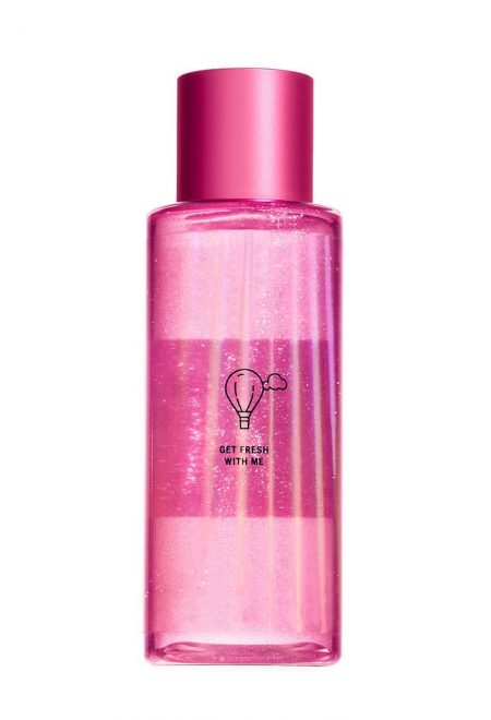 Mercajushij sprej dlia tela Pink Fresh&Clean1