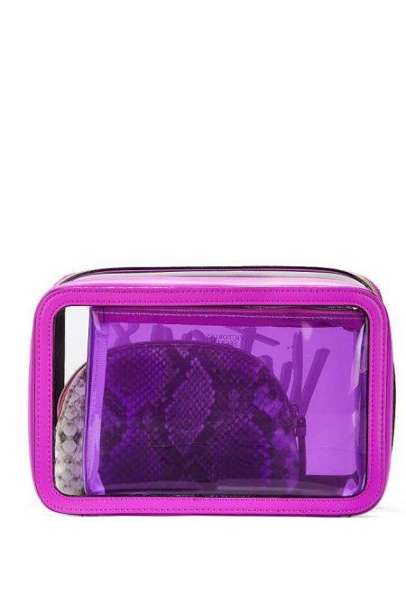 Nabor iz 3-h kosmetichek Victoria's Secret fioletovij3