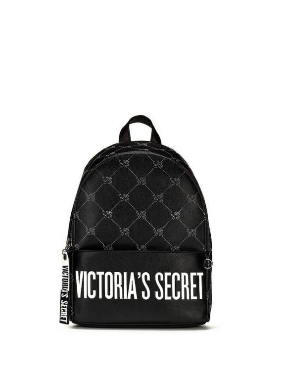 Riukzak Victoria's Secret City Backpack chernij logo