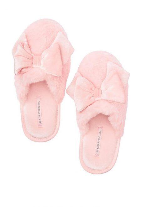 Taposhki s bantikami Victoria's Secret rozovie