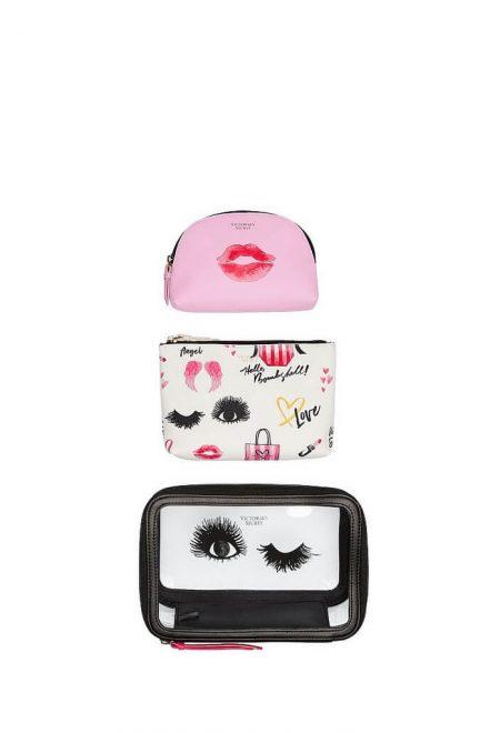 Nabor iz 3-h kosmetichek Victoria's Secret Bombshell1