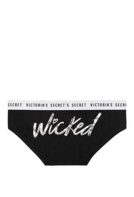 Trusiki bikini serii Cotton chernie wicked