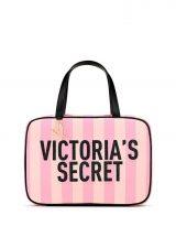 Dorozhnaia kosmetichka Victoria's Secret rozovaia poloska