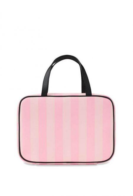 Dorozhnaia kosmetichka Victoria's Secret rozovaia poloska3