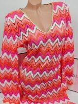 Tunika Luli Fama Flamingo Beach Plunge Dress1