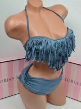 Kupalnik bando Despi onyx bahroma s visokimi plavkami1