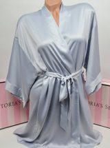 Halat kimono Victoria's Secret serebrianij s bandpishju iz kamnej Bombshell1