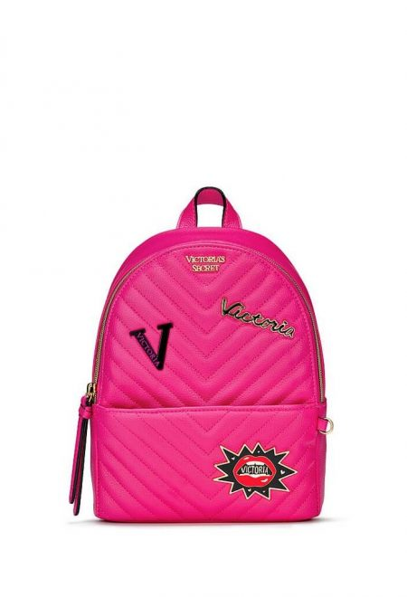 Riukzak Victoria's Secret City Backpack malinovij logo