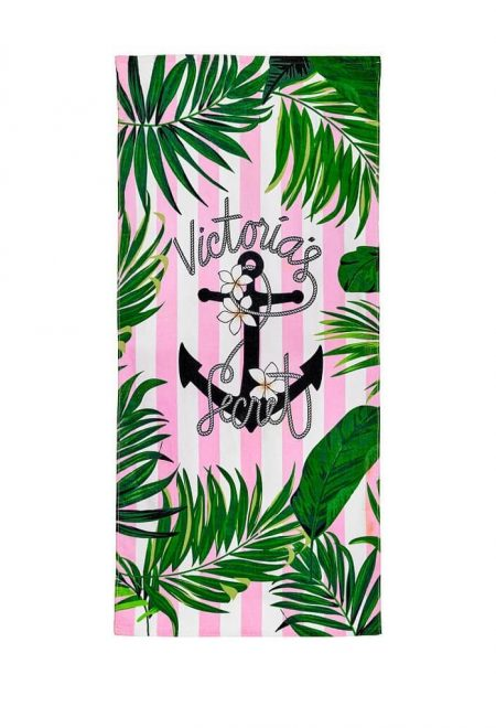 Pliazhnoe polotence Victoria's Secret rozovie palmi
