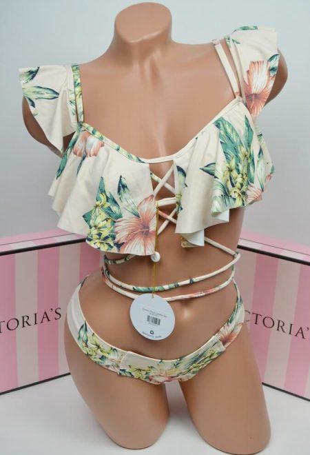 Kupalnik bralet Montce Tommi Floral Caletta Bikini