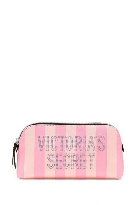 Kosmetichka - penal Victoria's Secret rozovaia poloska