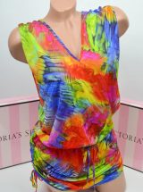 Pliazhnoe platje Luli Fama T-Black Mini Dress Mundo De Colores