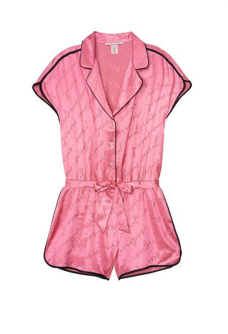 Satinovij kombinezon Victoria's Secret pink ionic